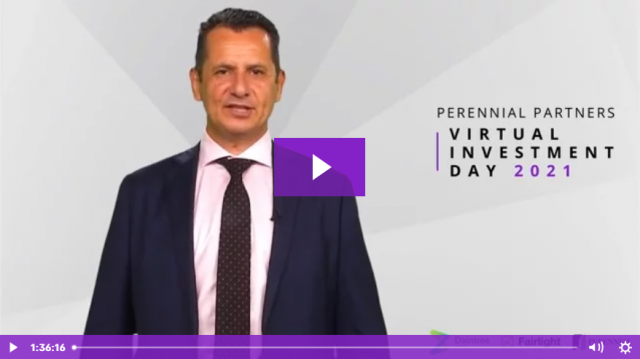 Perennial Partners Virtual Investment Day 16 March 2021